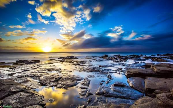 طبیعت زیبا دریا
